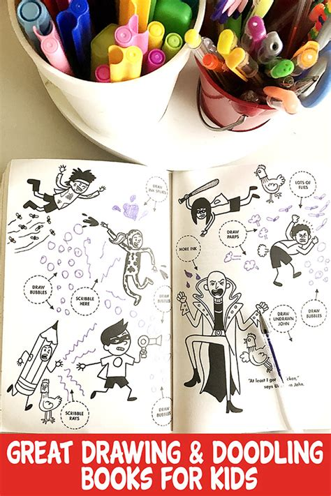 great doodle ideas great doodle and drawing books for school age