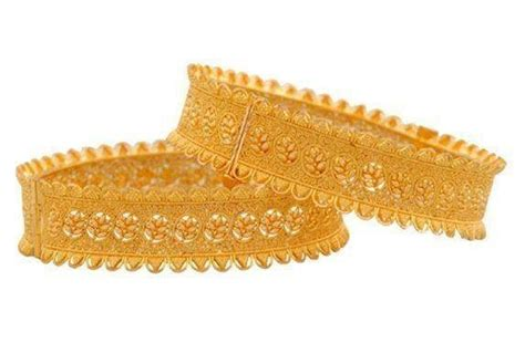 Pakistani New Gold Bangles Designs 2018 Pictures