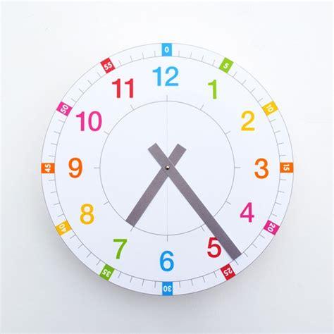 montessori clock printable the best montessori printables racheous