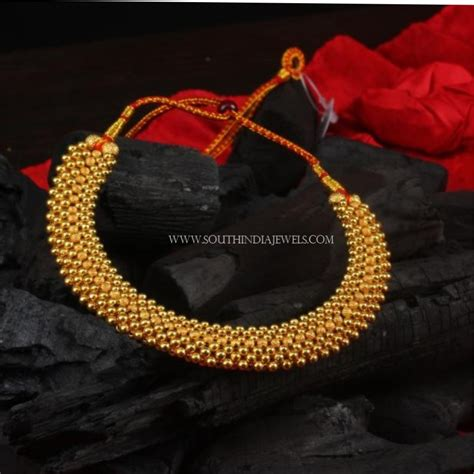 Designs With Price Gold Necklace Designs Below 10 Grams With Price South