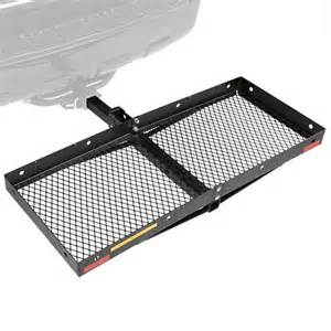 folding cargo carriers 2 sizes hitch cargo carriers