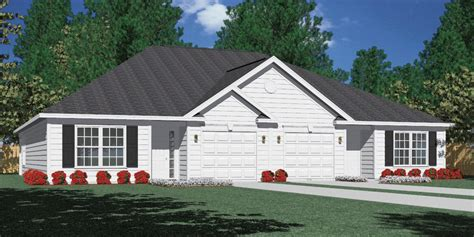 southern heritage home designs duplex plan 1261 a southern heritage home designs duplex plan 1261 c