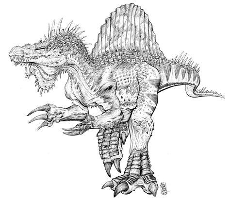 spinosaurus by renonevada on deviantart