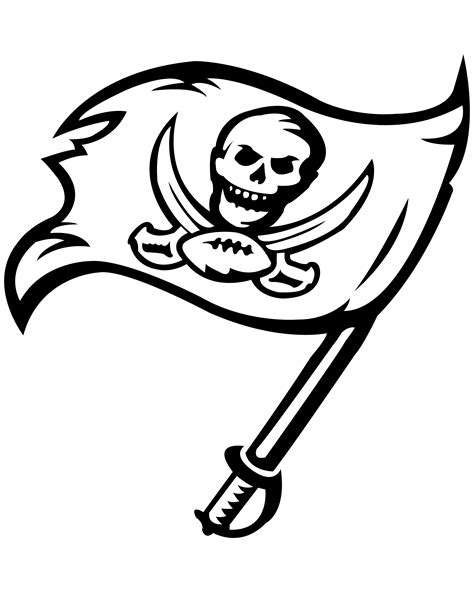 ta bay buccaneers coloring pages coloring pages