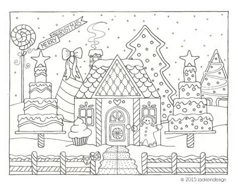 gingerbread house drawing  getdrawingscom