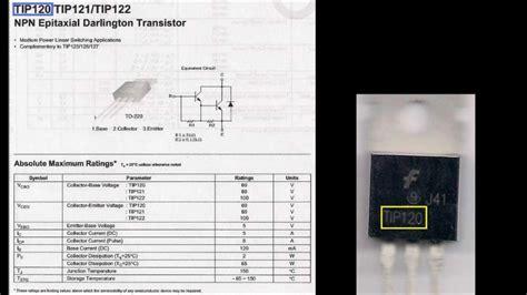transistors datasheet tutorial youtube