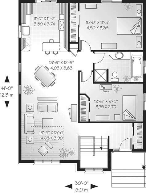 brilliant ideas narrow lot house plans floor plan house