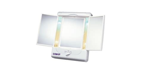 conair sided lighted makeup mirror conair two sided lighted makeup mirror