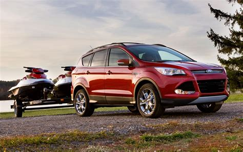 ford crossover truck crossovers can tow we checked the numbers truck trend