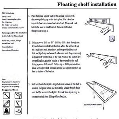 How To Install A Floating Shelf On A Wall by Welland 36 Quot Trenton Floating Shelf Wall Mounted Wood