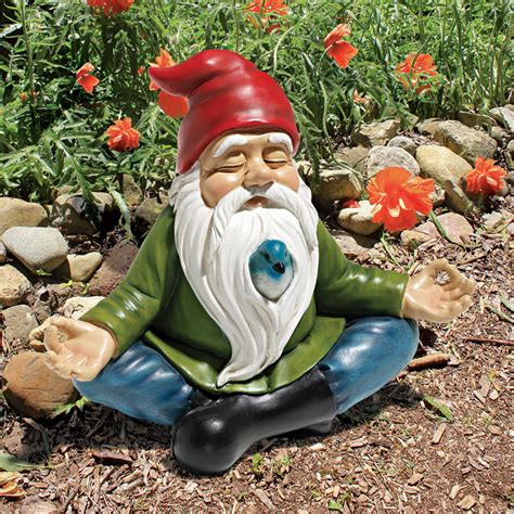 garden gnomes zen garden gnome the green head