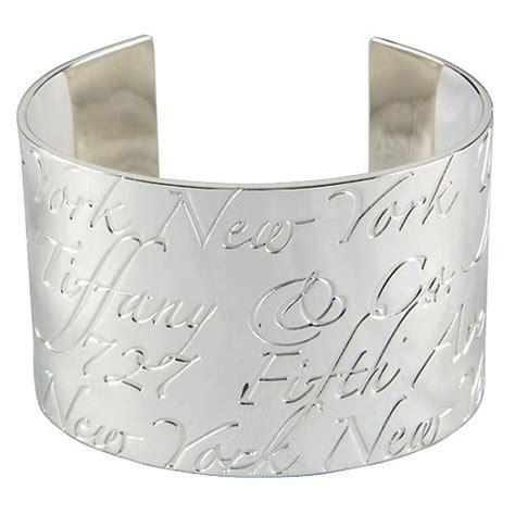 tiffany  notes cuff bracelet