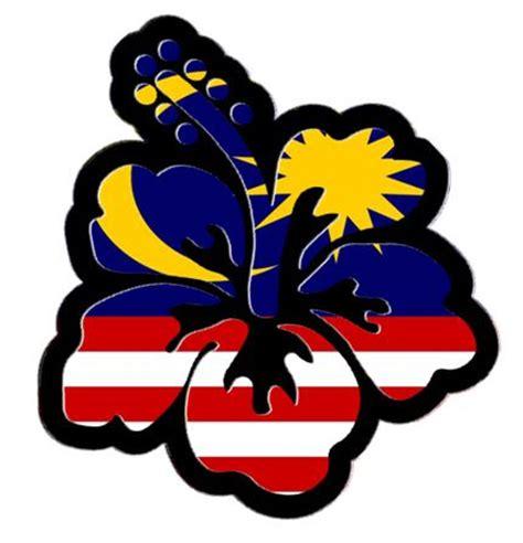 design bunga raya tice su bunga raya kemerdekaan