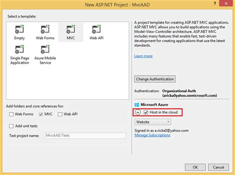 change password email template developing asp net apps with azure active directory