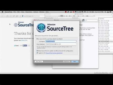 Git Tutorial Os X | learning git tutorial installing sourcetree for os x