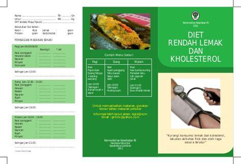 membuat brosur kesehatan brosur diet rendah lemak dan kholesterol1