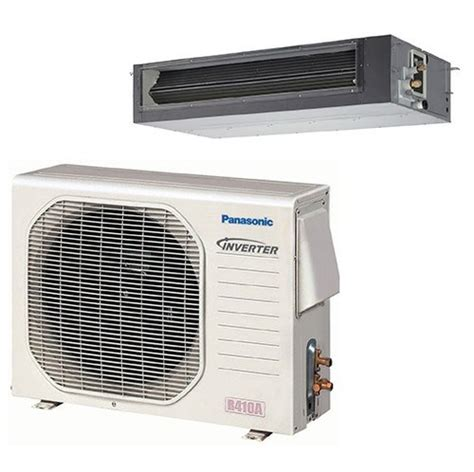 ductless mini split concealed panasonic hvac 36k btu concealed duct mini split system