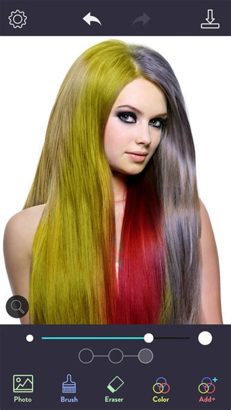 hair color by state hair color dye switch hairstyle face pic makeup app