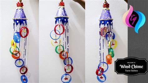 How To Make Handmade Wind Chimes - plastic bottle wind chime wind chimes ideas