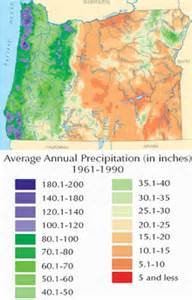 Weather Map Oregon by Climate Of Oregon Wikipedia