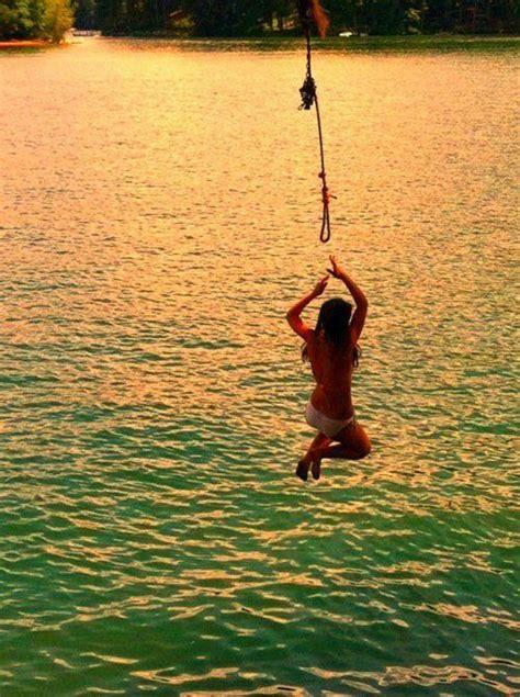 rope swing into lake best 25 rope swing ideas on pinterest wooden tree swing