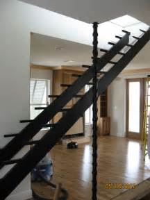 Steel Stairs With Wood Treads by Metal Craft Of Pensacola Inc 850 478 8333 Metal Craft Of
