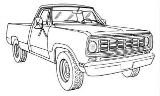 dodge truck coloring pages how to draw a dodge truck