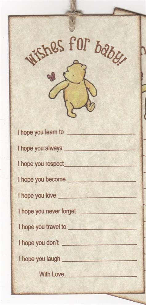 Vintage Winnie The Pooh Baby Shower by Winnie The Pooh Baby Shower Wishes For Baby Cards For