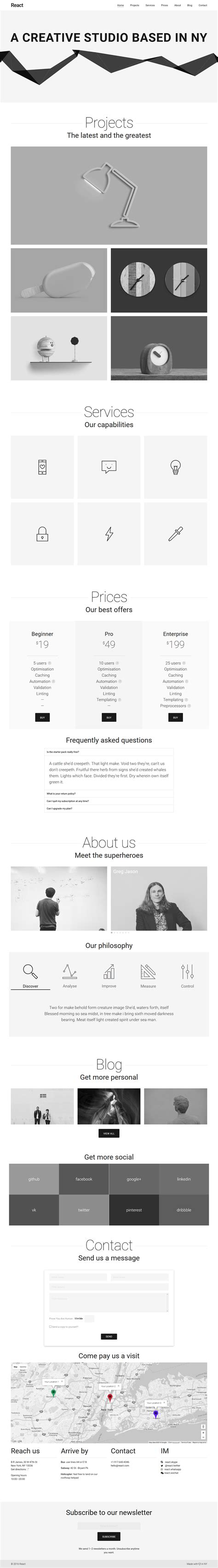 template joomla material design react material design joomla template by perfectusinc