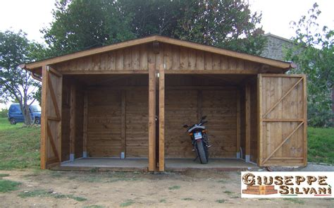 gazebo garage auto box auto casette e gazebo in legno