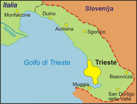 map of trieste italy file trieste province map png wikimedia commons