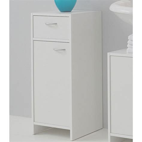3 drawer bathroom floor cabinet white