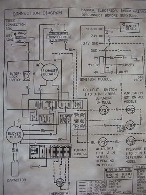 intertherm model m1mb furnace wiring diagram get free