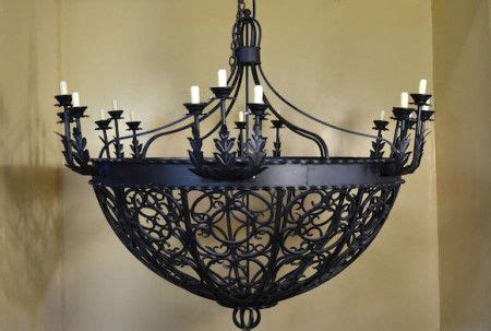 Handmade Wrought Iron Chandeliers 17 Best Images About Chandeliers Lighting Ceiling On