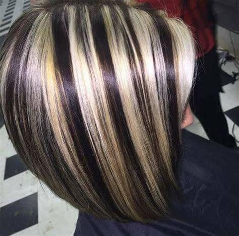 brunette to platinum streaks best 25 chunky blonde highlights ideas on pinterest