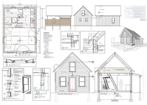 tiny house on foundation plans how to build a tiny house how to build it using simple steps