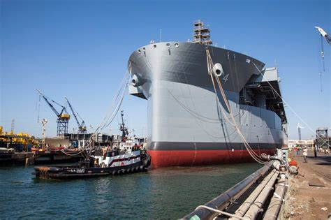 nassco successfully completes float out for usns hershel