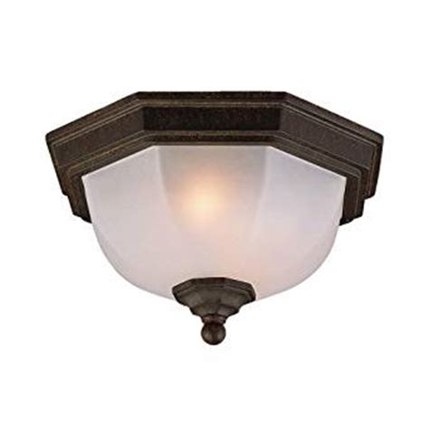 Light Fixture Supplies Acclaim 5605bc Flush Mount Collection 2 Light Ceiling Mount Outdoor Light Fixture Black Coral