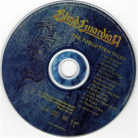 Blind Guardian Lord Of The Rings Lyrics The Forgotten Tales Keeper Blind Guardian Albums The