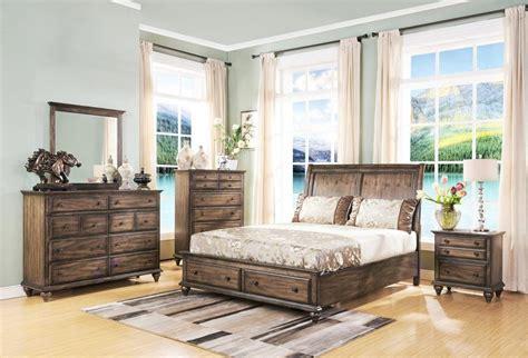 Eastern King Bedroom Set by Rustic Bedroom Furniture Decorhomestore
