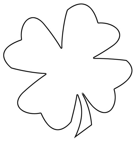 best photos of blank leaf template leaves outline clip