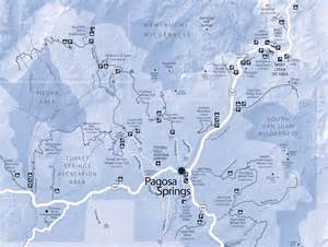 trail information maps pagosa springs nordic club