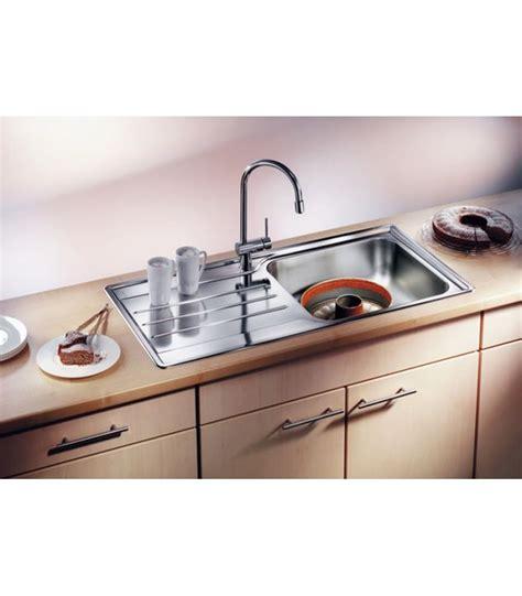 lavello cucina acciaio inox lavello rettangolare per cucina acciaio inox blanco median