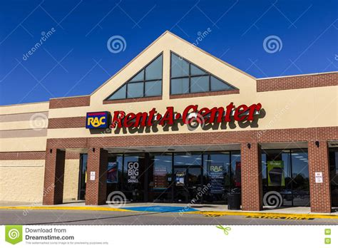 Rac Rental Furniture by Indianapolis Circa August 2016 Rent A Center Consumer