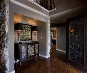 love the paint color with the wood floor great design i