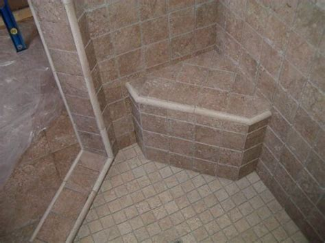 how to build a corner shower bench tiled shower stalls pictures ideas for shower stall