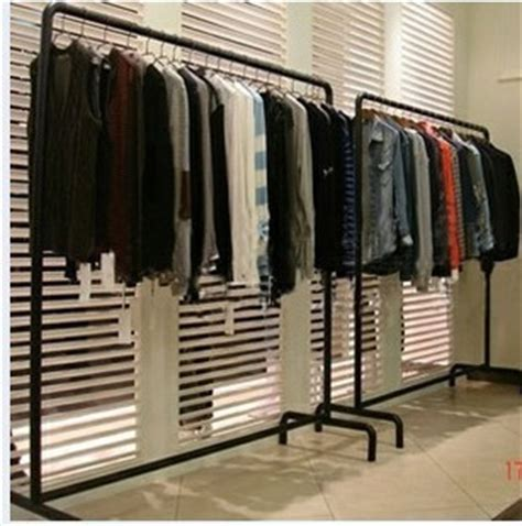 Clothing Store Racks And Shelves Bargain Iron Simple Floor Mall Clothing Store