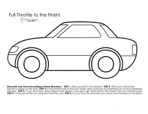 template for a car printable car template portablegasgrillweber