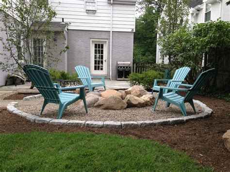 pit for patio pits ideas patio traditional with adirondack chairs
