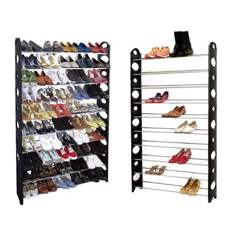 50 pair shoe cabinet 50 pair 10 tier shelf shoe rack organizer stand cupboard